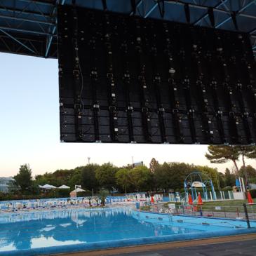 Eventi, servi audio luci e video